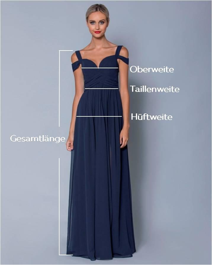 quality design b798e 2dc13 Größentabelle für Abendkleider und Ballkleider | VIVIRY