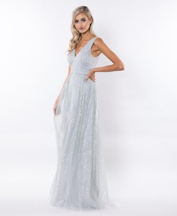 🎀Abendkleid Viola Gold kaufen| VIVIRY Abendkleider