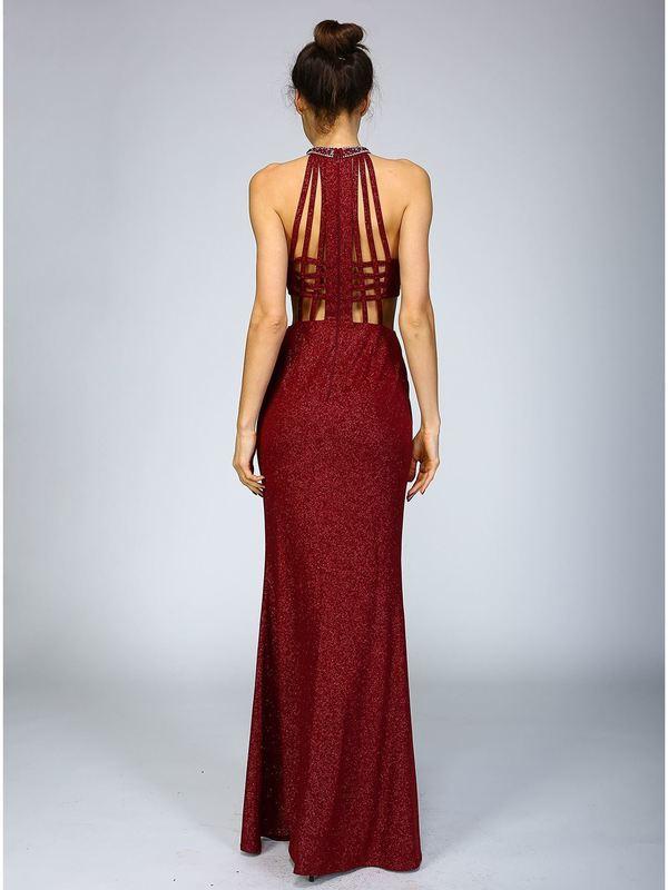 Abendkleid Rebecca Weinrot kaufen| VIVIRY Abendkleider
