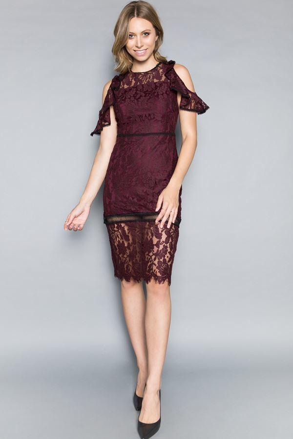 low priced b3afd 22a79 🎀Abendkleid Marsela Beere kaufen  VIVIRY Abendkleider