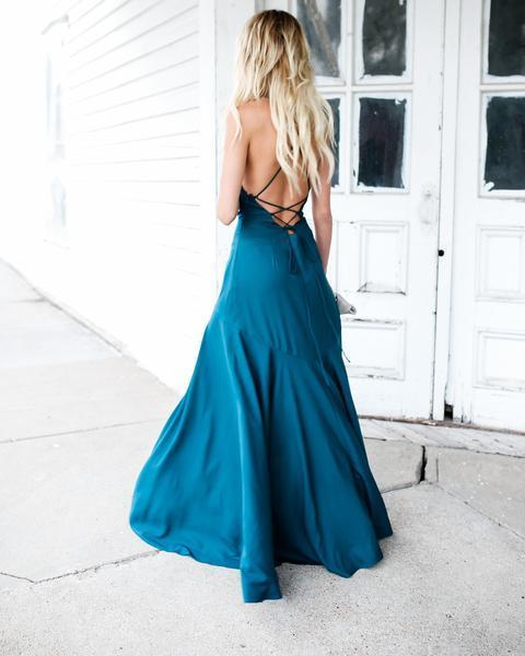 Abendkleid Muriel grün kaufen  VIVIRY Abendkleider