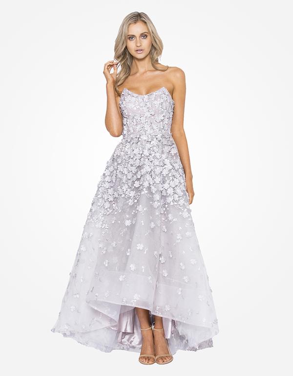 🎀Abendkleid Theodora Silber kaufen| VIVIRY Abendkleider
