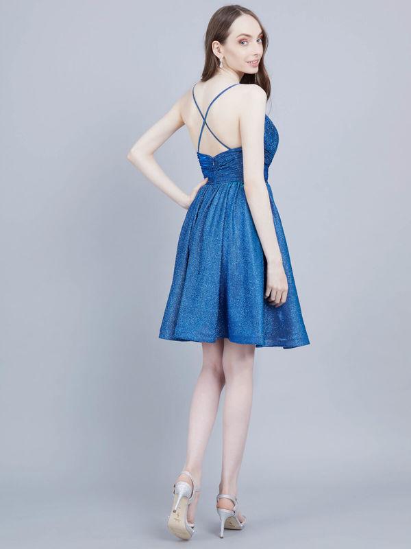 cocktailkleid tatty blau kaufen| viviry abendkleider