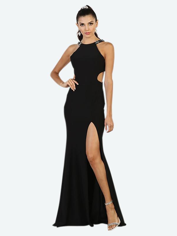 Abendkleid Xara Schwarz kaufen| VIVIRY Abendkleider