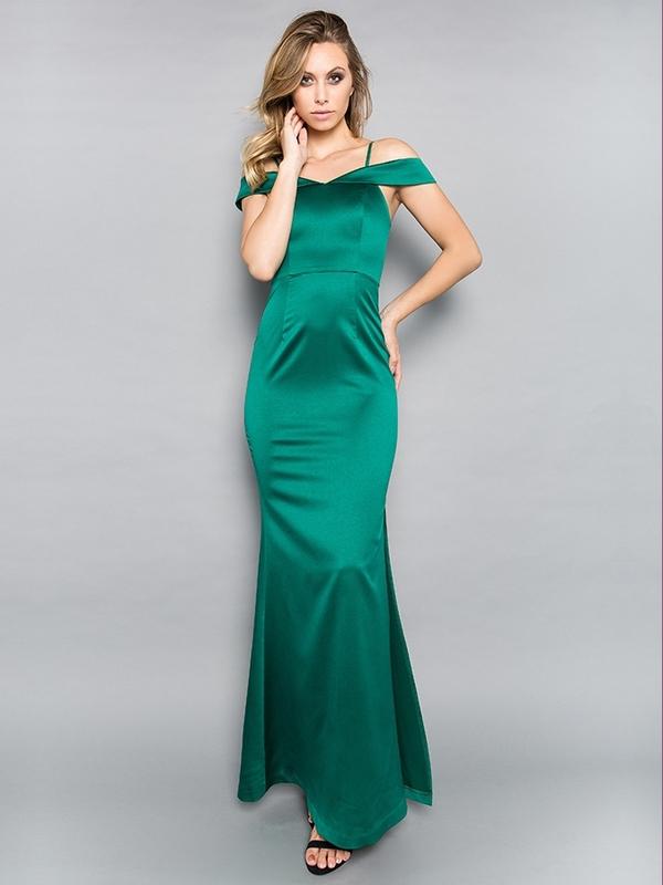 Abendkleid Myriam Grün kaufen| VIVIRY Abendkleider