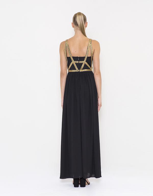 Abendkleid Samira Schwarz kaufen| VIVIRY Abendkleider