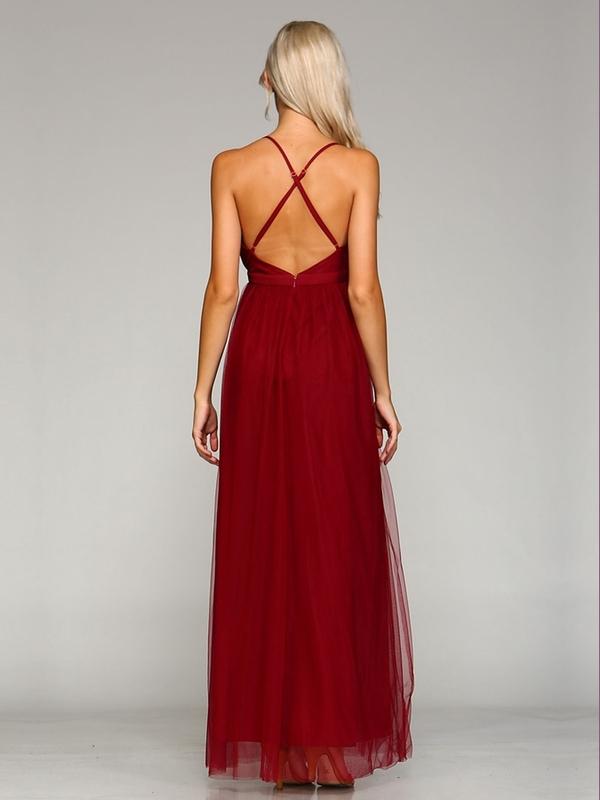 Abendkleid Maria Weinrot kaufen| VIVIRY Abendkleider