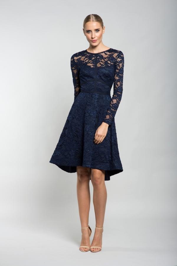 🎀Cocktailkleid Vera Blau kaufen  VIVIRY Abendkleider