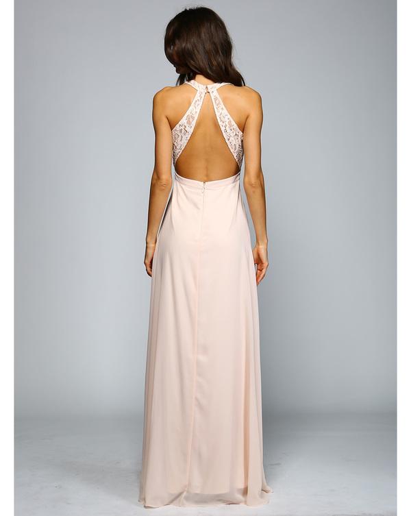 🎀Abendkleid Rosalina Nude kaufen| VIVIRY Abendkleider