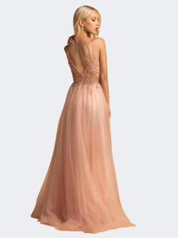 Abendkleid Franceska, rose
