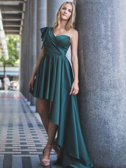 Abendkleid Dallas, smaragdgrün