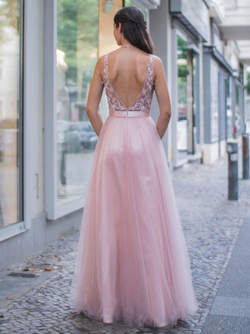 Abendkleid Xhenisa, rose