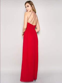 abendkleid ryoko rot kaufen viviry abendkleider