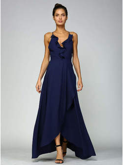 Abendkleid Malin, marineblau
