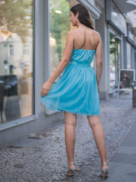 Cocktailkleid Julia, hellblau