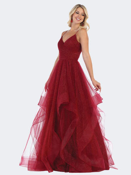 Abendkleid Theresa, weinrot