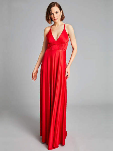 Abendkleid Desiree, rot