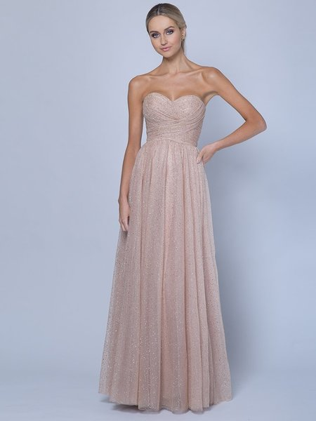 Abendkleid Darya, gold